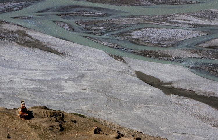 green river - Nepal Mystical Mustang Trek
