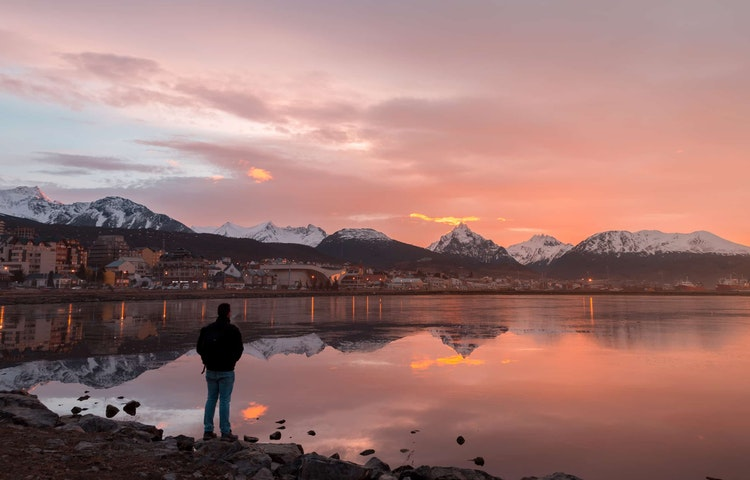 ushuaia morning - Chile & Argentina Patagonia to the Sea Hiking & Cruise