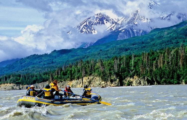 raft and green peak