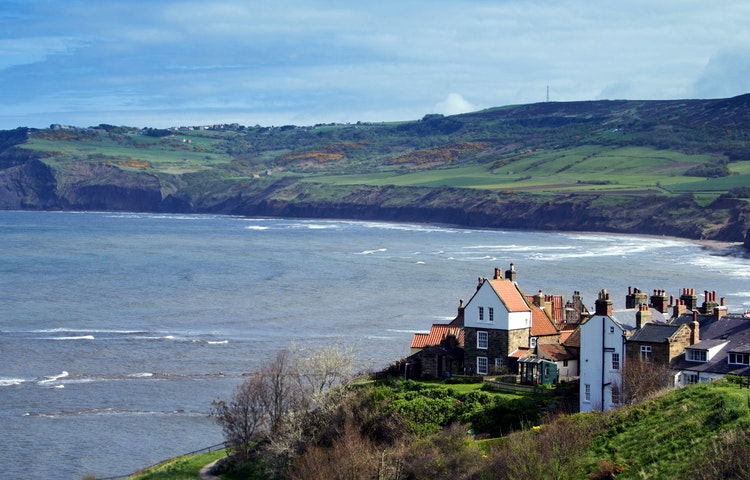 sea - England Coast to Coast Hiking