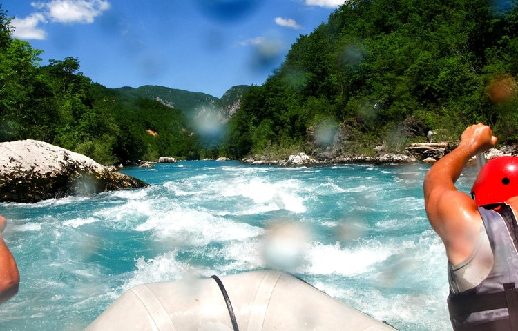 rafting - Balkans Via Dinarica Hiking