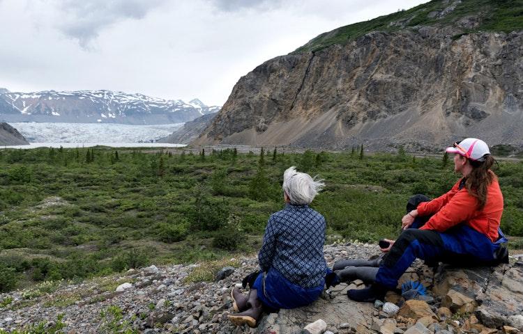 two women - Alaska Alsek River Rafting