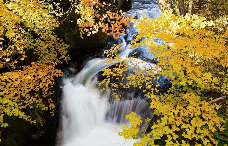 waterfall - Sacred Lakes & Mountains of Northern Japan