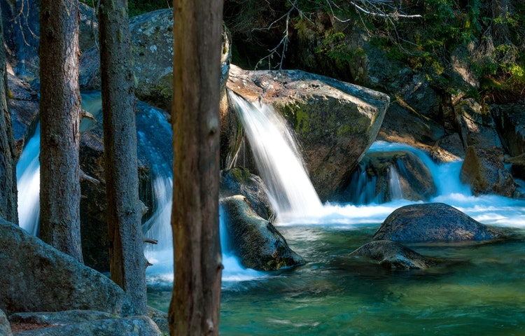 stream - Lebanon Mountain Trail Hiking