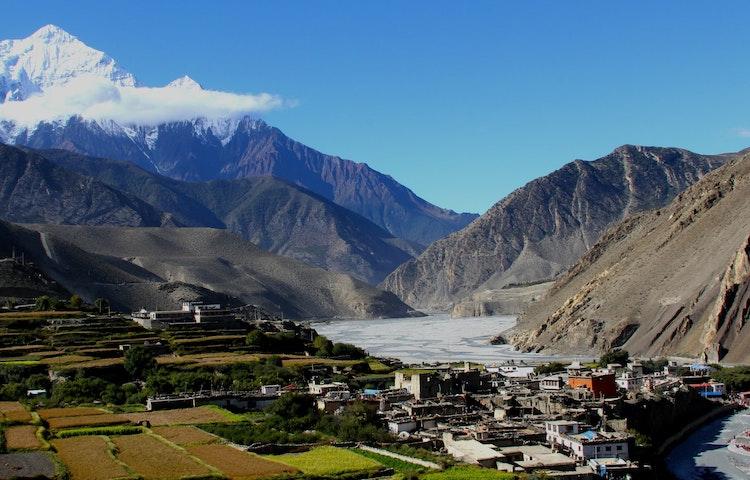 fertile valley - Nepal Mystical Mustang Trek