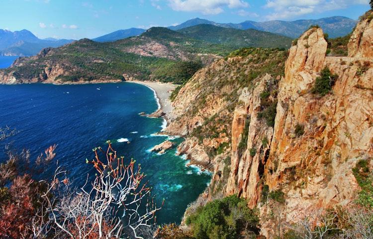 calanches de piana - France Island of Corsica Hiking Tour