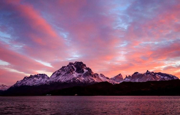 patagonia sunset - Chile & Argentina Ultimate Patagonia Hiking