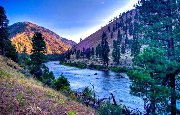 blue river scenic