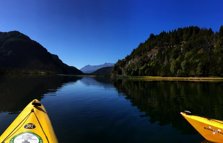 kayakers\' view - Argentina Patagonia & Lake District Multi-Adventure