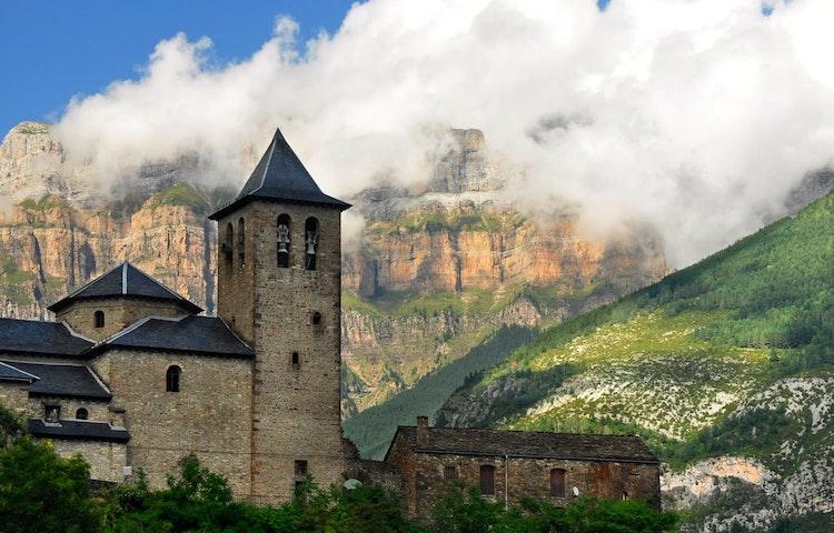 torla city gate - Spain & France Across the Pyrenees Hiking