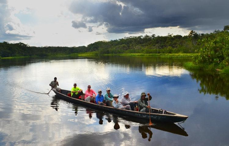 amazon canoe - Ecuador Galapagos Island Family Adventure Cruise