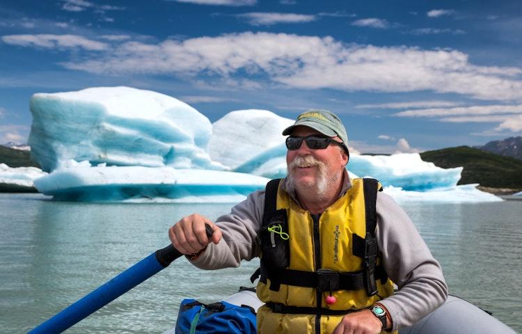 guide closeup - Alaska Alsek River Rafting