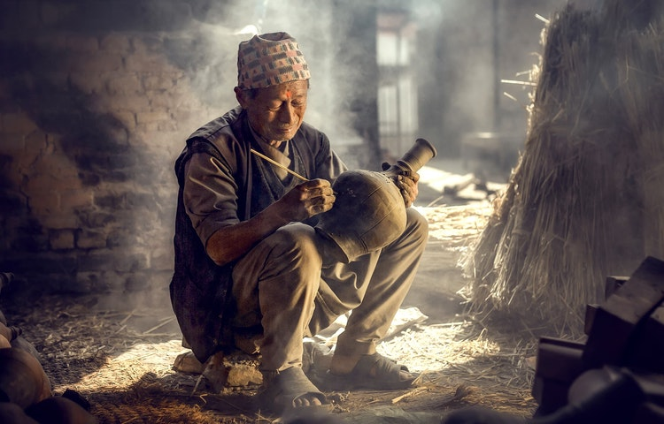 potter - Nepal Ancient Passes Trek