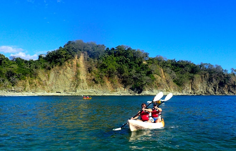kayakers - Costa Rica Private Family Adventure