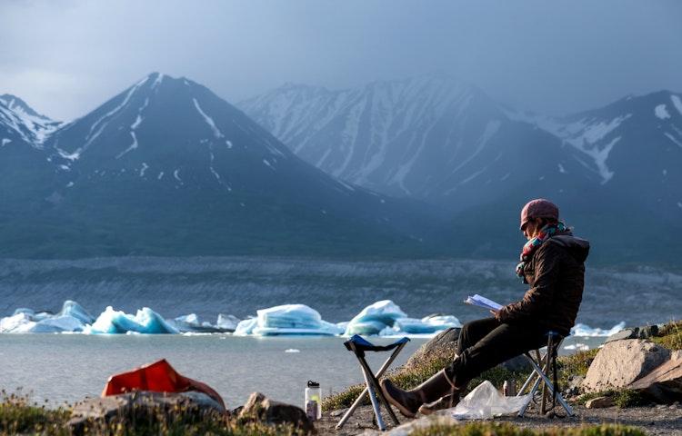 reading time - Alaska Alsek River Rafting