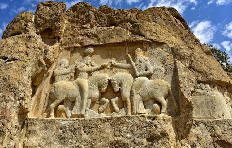 persepolis bas relief