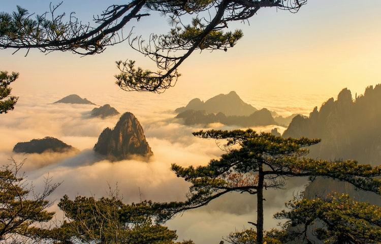 sunset view - China: Yosemite Sister Parks Hiking