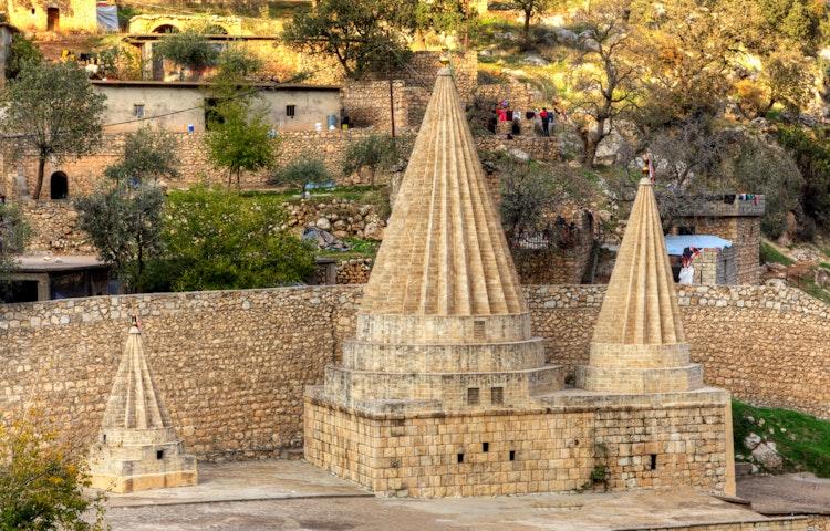 conical temple - Iraqi Kurdistan Cultural Discovery