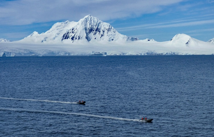 zodiacs - Antarctica In Search of the Emperor Penguin Adventure Cruising