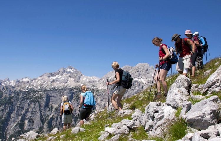 hiking group - Balkans Via Dinarica Hiking