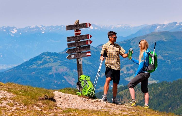 trailside toast - Austria, Italy & Slovenia Alpe Adria Hiking
