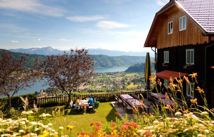 lunch spot - Austria, Italy & Slovenia Alpe Adria Hiking