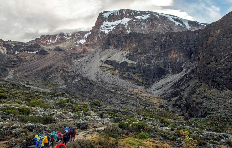 barranco hikers