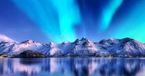 North Norway, Aurora Borealis, Hike & Kayak & Sail