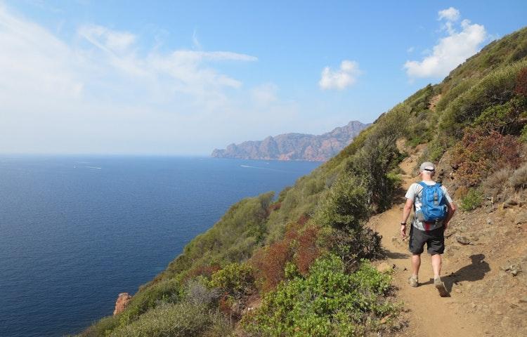 Sentier du Facteur - France Island of Corsica Hiking Tour