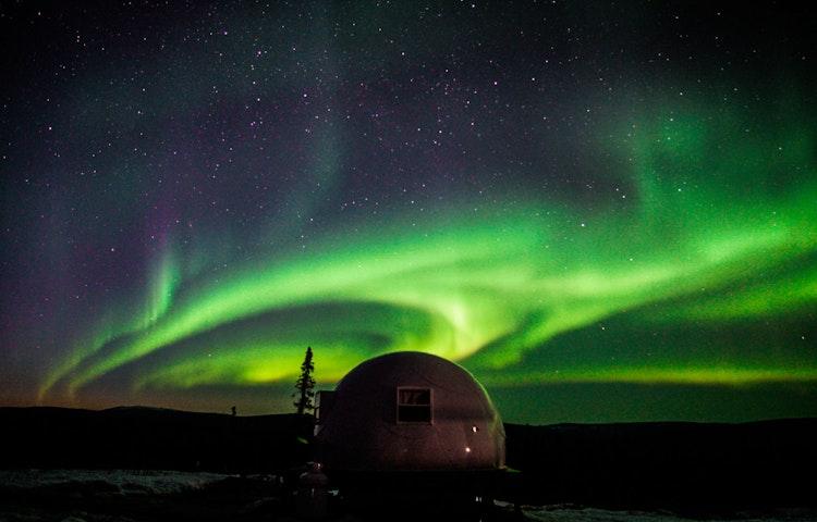 igloo - Alaska Aurora Igloo Private Multi-Adventure