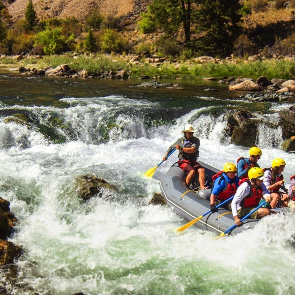 Idaho Middle Fork of the Salmon River Rafting   MT Sobek