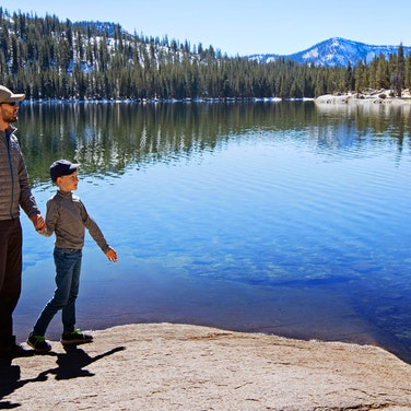 California High Sierra Family Hiking