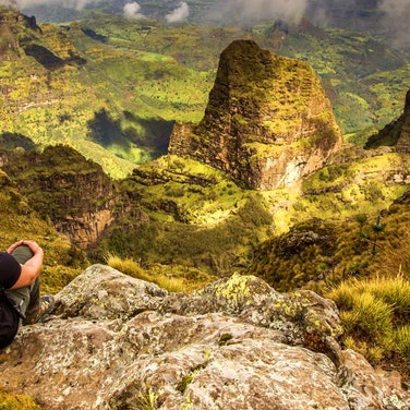 Ethiopia Simien Mountains Hiking