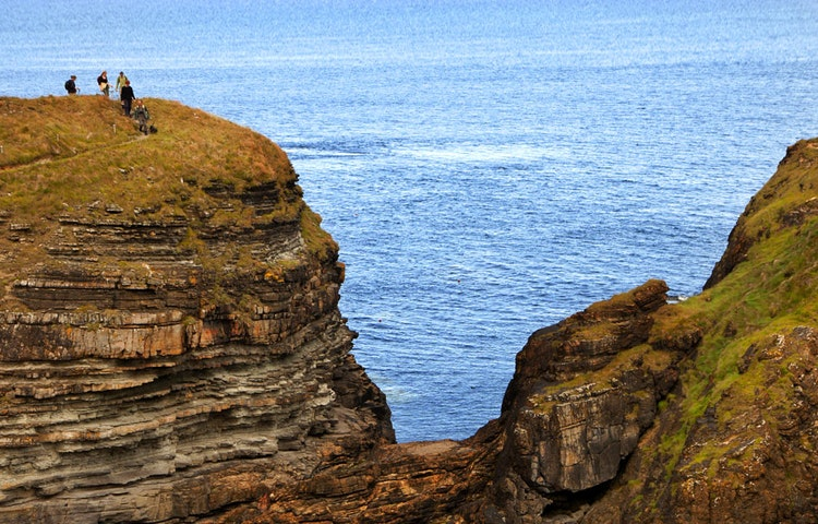 cliffs - Scotland Orkney Isles Private Adventure