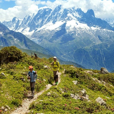 Alps Mont Blanc Family Adventure