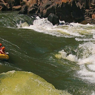 Zambia Zambezi River Rafting Private Adventure