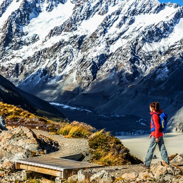 New Zealand South Island Hiking
