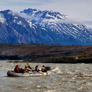 Alaska & Yukon Tatshenshini River Rafting