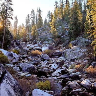 California High Sierra Odyssey Trek