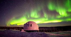 Alaska Aurora Igloo Private Multi-Adventure