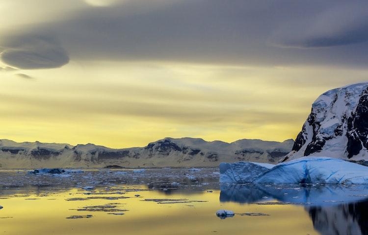 iceberg - Antarctica In Search of the Emperor Penguin Adventure Cruising